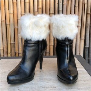 BRAND NEW! Faux Fur Cuff Boot Topper Leg Warmer OS